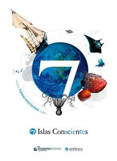 7 Islas conscientes - Conferences over the 7 Canary islands - www.7islasconscientes.com - design by John O'hare