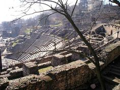 Lugdunum ruins, Lyon, France
