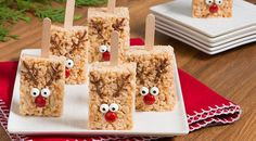 These pops are a cute addition to any holiday cookie platter. They are also a fun treat to make with the kids to leave out for Santa on Christmas Eve.