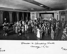 World War II was a time of ceaseless activity at GPO, and managers looked for ways to keep morale high. This dance raised money for war bonds in 1941.