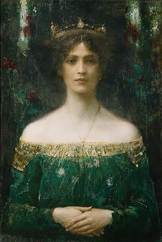 """Eduard Veith """"The King's Daughter"""""""