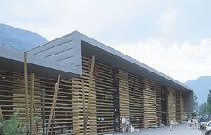 Centro Comercial Boya - Shopping centre, Les (Spain)  by Eureka Grupo HBA, s.l.   #roofing #quartz-zinc #wood #spain #zinc #VMZINC