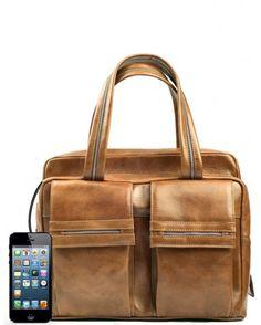248c4bcc9c2d2 torby na ramię - damskie-Torebka skórzana me 10 która ładuje telefon