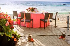 beach side wedding reception | CHECK OUT MORE IDEAS AT WEDDINGPINS.NET | #wedding