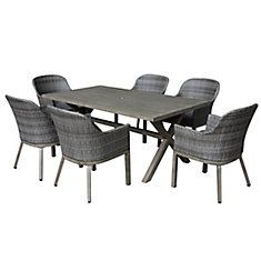 7 PC Crown View Dining Set