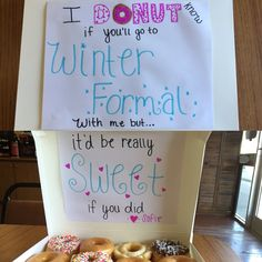 Sadie Hawkins winter formal proposal 2016 :)