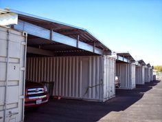 Já pensou em toda a infraestrutura para fazer um galpão, pavilhão ou cobertura de forma tradicional? Containers marítimos customizados torn...