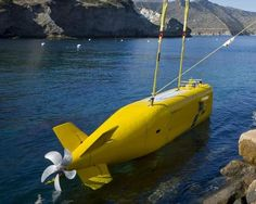 Echo Ranger Large Displacement Unmanned Underwater Vehicle operating off of Catalina Island, CA