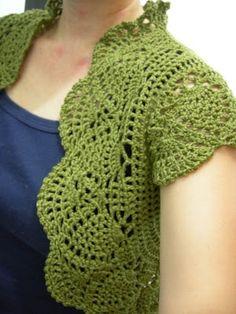 crochet stitches illustration | FREE CROCHET PATTERNS BOLERO | Flash Press Links Share
