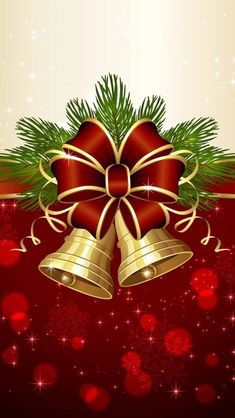 Wallpapers iPhone (new year/christmas) Christmas Scenes, Christmas Bells, Christmas Pictures, Christmas Art, Christmas Greetings, Vintage Christmas, Christmas Holidays, Christmas Decorations, Winter Holidays