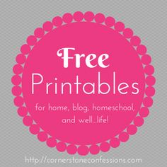 100+ Places You Can Find Free Planner Printables For 2015 (and Giveaway
