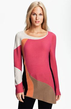 Nic + Zoe 'Graphic Tides' Sweater available at #Nordstrom