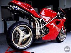 Massimo Tamburini greatest design ever : Ducati 748 Ducati 916, Ducati Superbike, Moto Ducati, Ducati Motorcycles, Moto Bike, Biker Photography, Motorcycle Travel, Sport Bikes, Cool Bikes