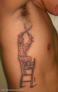 Quite possibly THE MOST Stupid tattoo of all time.