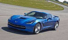 2014 Corvette Stingray Light blue