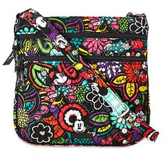 Mickey's Magical Blooms Hipster Bag by Vera Bradley | Disney Store