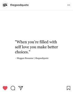 Thats why i've made terrible choices all my life