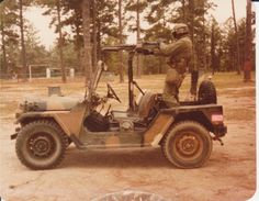 Before humvees there was the lowly Jeep.