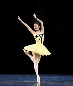 Yuhui Choe in Scènes de ballet © ROH/Tristram Kenton 2014