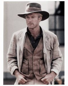 * Robert Redford * ...as Denys Finch Hatton in 'Out of Africa' (1985)   Karen Blixen: He even took the gramophone on safari. Three rifles, supplies for a month, and Mozart. ♡