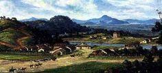Novo Milênio: Cubatão de antigamente: Cubatão em 1826, por Benedito Calixto