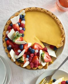 Tart Recipes, Dessert Recipes, Desserts, Passionfruit Tart, Baking Beads, New Zealand Food, Rice Paper Rolls, Baked Eggplant, Summer Berries