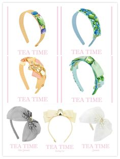 Sereni and Shentel Tea Time Collection!