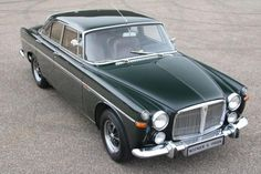 Rover P5B coupe 3500 '70 Beautiful BRG.