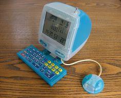 iMac clock
