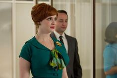 "Christina Hendricks, as Joan Harris, in episode 11, ""The Other Woman,"" pictured during season 5 of Mad Men."