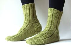 Simple Skyp Socks and sock heels | Leikitty