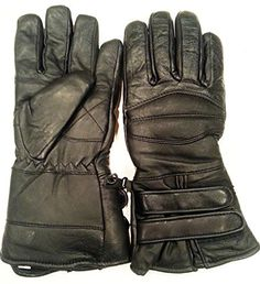 Special Offers - BEST Nekid Cow Brand Black Leather Motorcycle Waterproof Cold Weather Year Round Insulated Gauntlets GUARANTEED  Riding Padded Gloves  Insulated Women Men UNISEX Glove for Winter or Anytime AND Snowmobiling (Snow Mobile)  Windproof  Includes Bonus Motorcycle Rider & Restoration eBook Guide  Satisfaction ASSURED (3X) - In stock & Free Shipping. You can save more money! Check It (October 13 2016 at 02:45AM)…