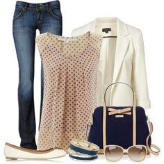 Look glamour da giorno - outfit pensato per le uscite con le amiche ma anche per una mattinata di lavoro in cui vorrete essere particolarmente fashion.