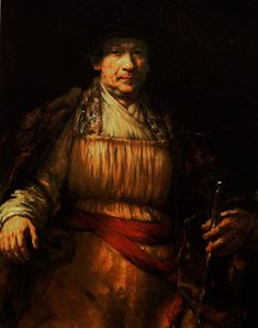 Rembrandt van Rijn - 1658 Self Portrait (The Frick Collection, NYC) Histoire de l'art -  L'art baroque