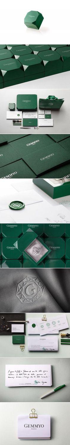 Gemmyo / Corporate Identity für Schmuckhersteller / Le Goff & Gabarra