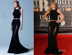 Elie Saab Pre-Fall 2013 (@ 2013 BRIT Awards)