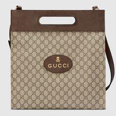 Soft GG Supreme tote - Gucci Men's Totes 463491K5I5T8358