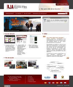 The website 'http://www.lja35.fr' courtesy of Pinstamatic (http://pinstamatic.com)