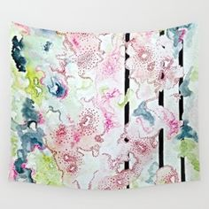 Lines & Dots Wall Tapestry