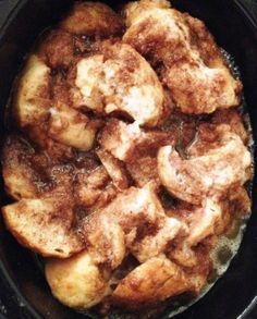 Slow Cooker French toast Casserole  1 loaf French bread 6 eggs 2 cup milk 1 ½ teaspoon cinnamon ¼ cup butter, softened ½ cup brown sugar, packed ½ teaspoon vanilla