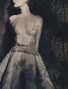 Photographed by Paolo Roversi for Vogue Italia March 2013