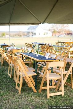 Wedding table setting - outdoor, tent, rustic, minimalist {Ila Mar Productions} Wedding Place Settings, Outdoor Furniture Sets, Outdoor Decor, Real Weddings, Tent, Minimalist, Rustic, Table Decorations, Places