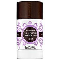 lavanila deodorant. Best ever!