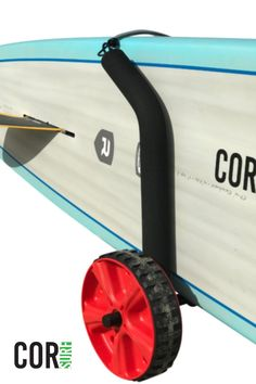 This board carrier fit all kinds of boards - surfboards, paddle boards, longboards and more. A great way to transport your boards to and from the beach.