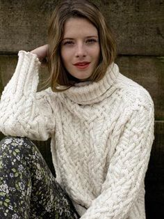 42e93d22 Rowan model Inisheer Rowan one of my favorite companies for yarn and  pattern support.: