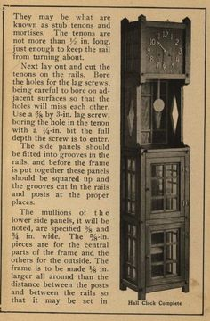 How to Make Mission Furniture, 1910.  Popular Mechanics Co.  ir Door Institute From the Association for Preservation Technology (APT) - Building Technology Heritage Library, an online archive of period architectural trade catalogs. Select an era or material and become an architectural time traveler.