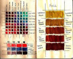 Color Study 2 by Frances Waite Art, via Flickr