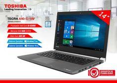 Garantía y fiabilidad con el Toshiba Tecra A40-C-14W