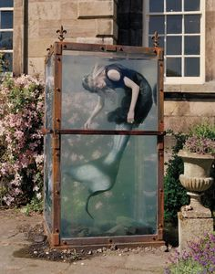 """Far, far from land""  Photographs by Tim Walker - Model Kristen MacMenamy"