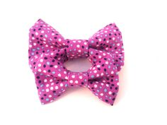 Cat Bow Tie / XS Dog Collar Addon Accessory  Blue by TheEmPURRium, $4.50